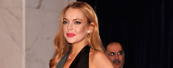 Lindsay Lohan has dinner with Woody Allen (hoto by Stephen Lovekin/Getty Images)