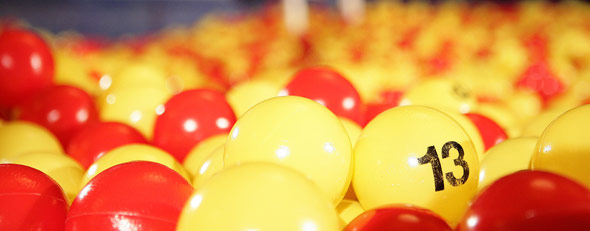 Lottery balls (Photo by Dario Cantatore/Getty Images)