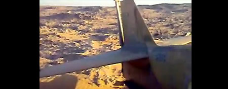 A fighter plane from World War II that crashed in the Sahara 70 years ago has been unearthed. (Screen grab from YouTube video)