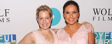 Alexandra Wentworth (L) and Mariska Hargitay (Jamie McCarthy/WireImage)