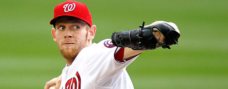 Washington Nationals pitcher Stephen Strasburg (AP photo)