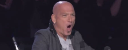 "Contortionist Turf shocks Howie Mandel and Howard Stern on ""America's Got Talent"" (Screengrab)"