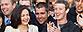 Facebook IPO live coverage. Facebook COO Sheryl Sandberg and CEO Mark Zuckerberg ring the Nasdaq opening bell from the company's Menlo Park, Calif. headquarters (AP Photo/Nasdaq via Facebook, Zef Nikolla)