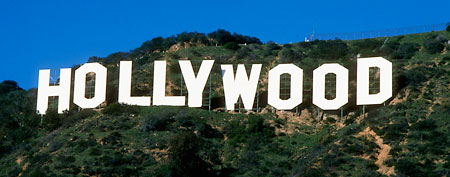 Hollywood's sneaky money tactics. Here, the Hollywood sign in the Hollywood Hills, California (Corbis)