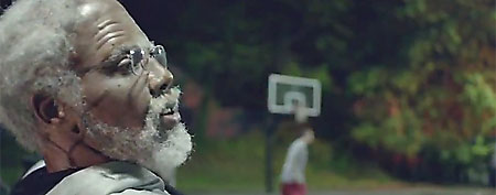 """Uncle Drew"" video is a viral hit on YouTube. (Screen grab courtesy of ThePostGame.com)"