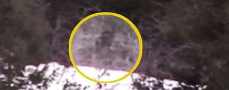 Footage of mysterious figure shot by Idaho high school students (ABC)