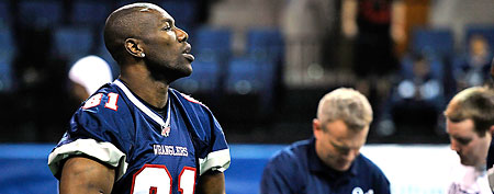 Terrell Owens of the Allen Wranglers. (Yahoo! Sports)
