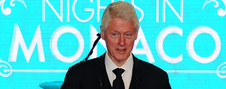 Bill Clinton (Pascal Le Segretain/'Nights in Monaco'/Getty Images)