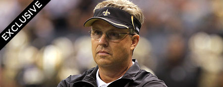 Defensive coordinator Gregg Williams of the New Orleans Saints. (Photo by Matthew Sharpe/Getty Images)