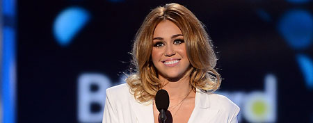 Miley Cyrus (Ethan Miller/Billboards2012/Getty Images for ABC)