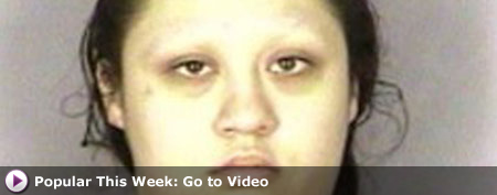 This June 6, 2012 photo provided by the Marion County Sheriff's Office shows Krystle Marie Reyes, 25, who is accused of swindling more than $2 million from the state of Oregon. (AP Photo/Marion County Sheriff's Office)