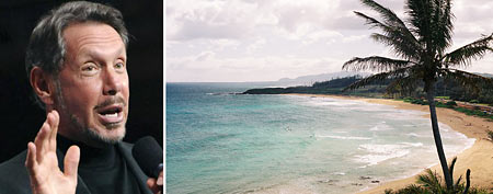 Oracle CEO Larry Ellison buys a Hawaiian island (Reuters, Thinkstock)