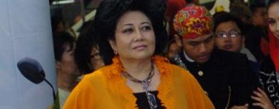 Hartati Murdaya di pembukaan Jakarta Fair (Foto: Antara/Ujang Zaelani)