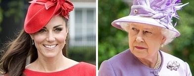 Kate Middleton dan Ratu Inggris Elizabeth II (Getty Images)