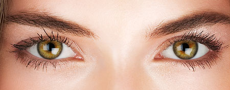 How to make your eyes look bigger (Thinkstock)