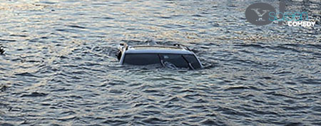 Man backs friend's new BMW into lake (NY Post/Broken News Daily)