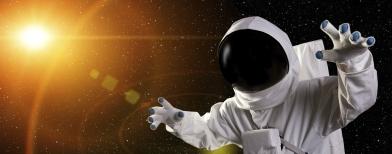Ilustrasi astronot (Foto: Thinkstock)