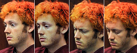 Is James Holmes' strange behavior a sign of psychosis or is he faking it? (ABC News)