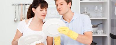 مشاركة الرجل فى تنظيف المنزل يجعله أكثر سعادة من غيره .. ؟؟  118427530