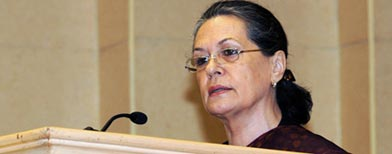 Sonia to Italy: Don't take India for granted