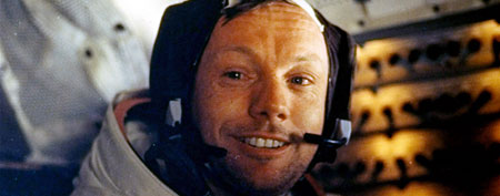 Astronaut Neil Armstrong dies at 82 (AP Photo/NASA)