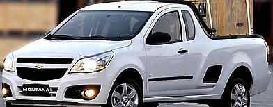Chevrolet Montana. Foto: Divulgação