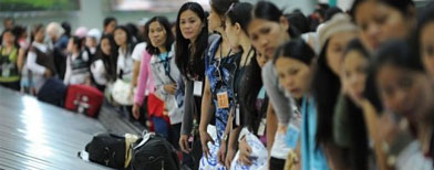 OFW deployment to Hong Kong stopped
