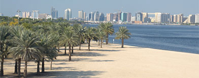 Dubai Creek beach. Thinkstock