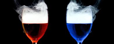 Cocktails with nitrogen. Photo: iStockphoto/Thinkstock