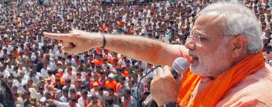 UPA incapable of leading India: Modi