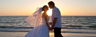 10 items to consider for beach nuptials