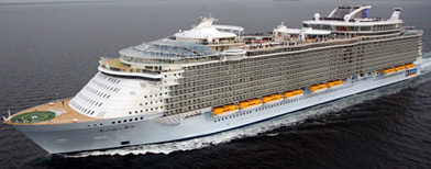 In photos: The world's largest cruise ship