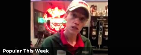 Act makes Krispy Kreme worker a star