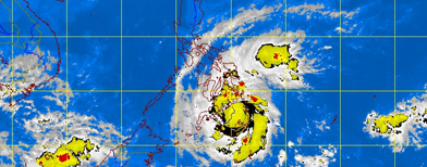 Photo from the Pagasa website (Dec. 4, 8:30 a.m.)