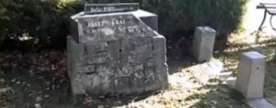 La lápida de Josef Kral
