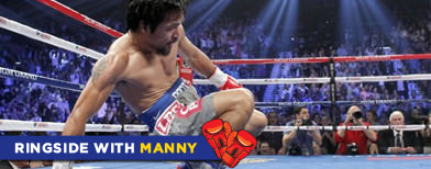Saranggani Rep. Manny Pacquiao says his recent boxing defeat strengthened his RH opposition (Photo by Reuters)