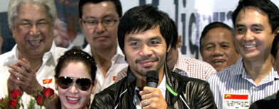 Will MVP group back Pacquiao fight?