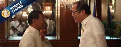 Aquino vs. Binay's endorsement powers