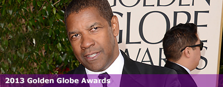 Denzel walks red carpet with his daughter