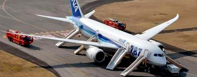 An All Nippon Airways Boeing 787 Dreamliner (PA library photo)
