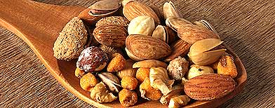 Go nuts for healthy new snack foods
