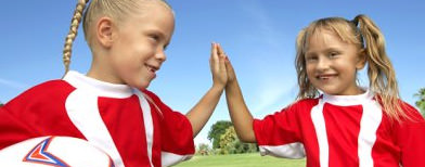Football club to kids: No more high-fives