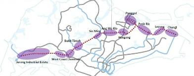 Pics: New Jurong, Cross Island Lines
