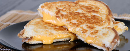 Make gourmet grilled cheese at home