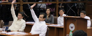 Trillanes tried but failed to oust Enrile