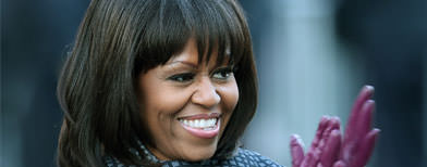 Michelle Obama's inaugural ball style