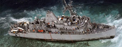 U.S. navy fined for Tubbataha damage
