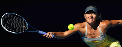 Sharapova blitzes her way to semis