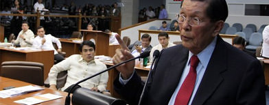 Enrile confident he won't be ousted