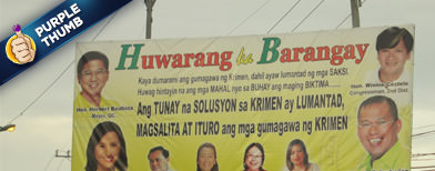 'Epal' politicians' posters ordered removed